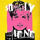 Simply Diana Pop Art portrait by Adarve  Photocollage