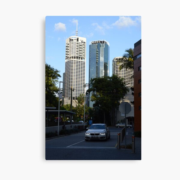 Brisbane cityscape from Kangaroo Point Canvas Print