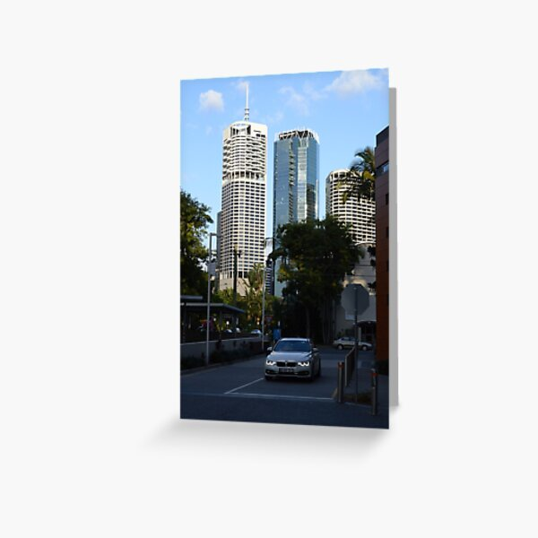 Brisbane cityscape from Kangaroo Point Greeting Card