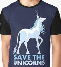 Save the Unicorns Graphic T-Shirt