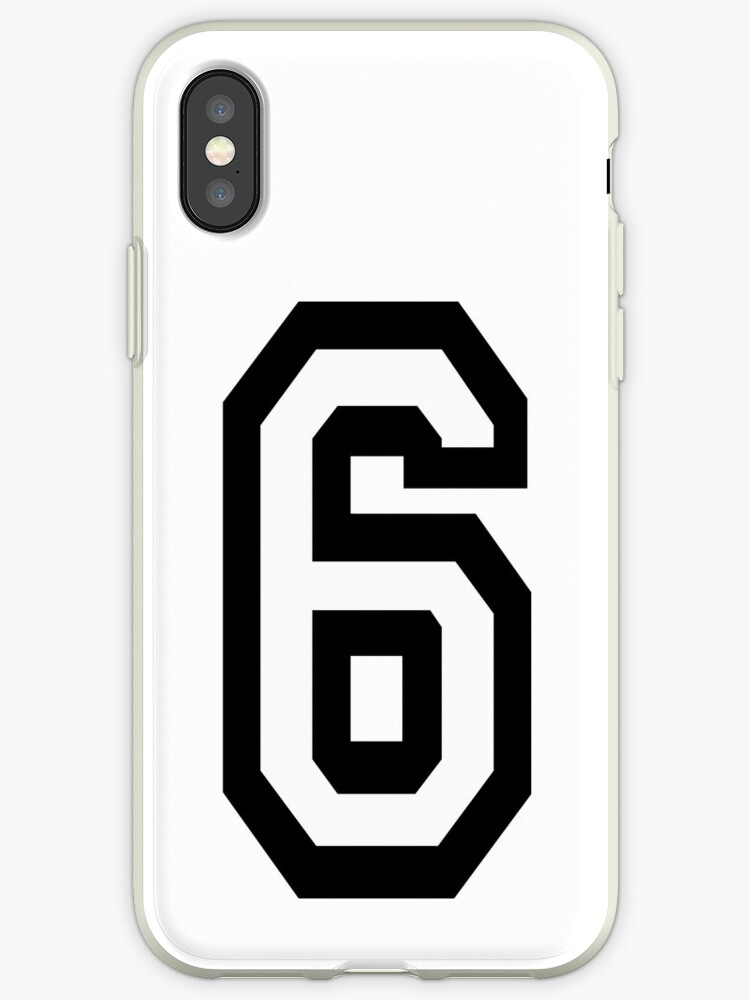 official photos a4f21 26c6a '6, TEAM, SPORTS, NUMBER 6, SIX, SIXTH, Competition' iPhone Case by TOM  HILL - Designer