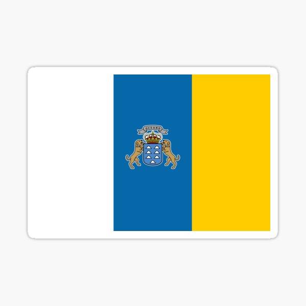 Bandera canaria Pegatina