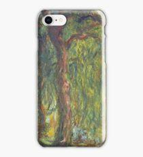 Weeping Willow 1918 - 1919 Claude Monet iPhone Case/Skin