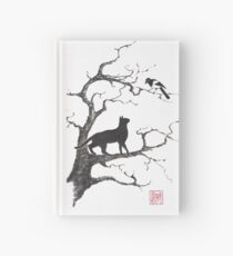 Dangerous conversations sumi-e painting Hardcover Journal