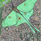 Luna Tickles by JillelaineArt