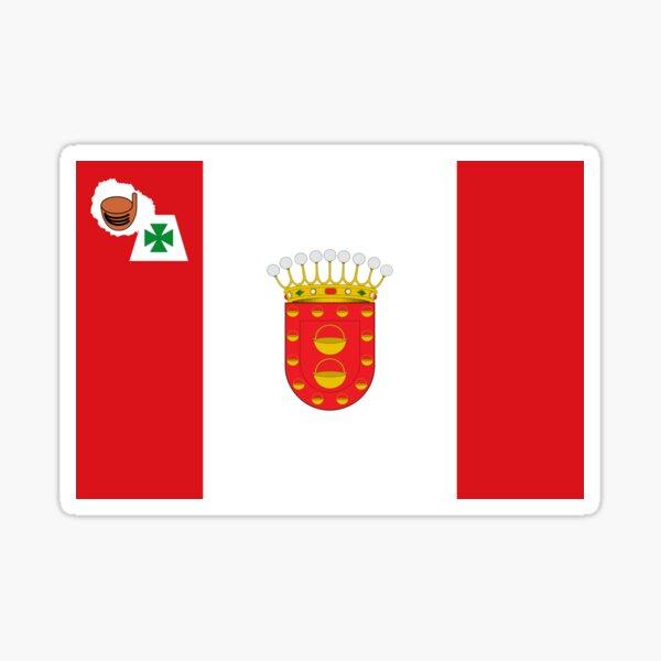 Bandera de La Gomera, Islas Canarias Pegatina