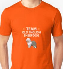 Team Old English Sheepdog  Unisex T-Shirt