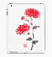 Royal pair sumi-e painting iPad Case/Skin