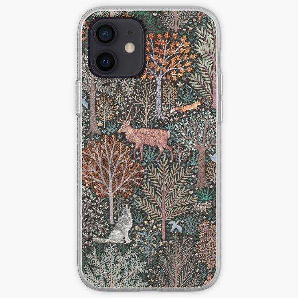 Forest animals - les animaux de la fôret iPhone Soft Case