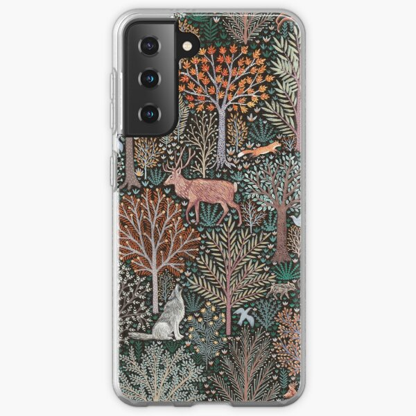 Forest animals - les animaux de la fôret Samsung Galaxy Soft Case