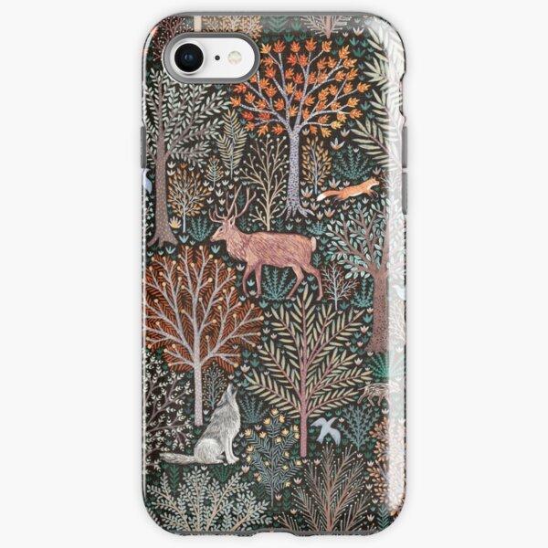 Forest animals - les animaux de la fôret iPhone Tough Case
