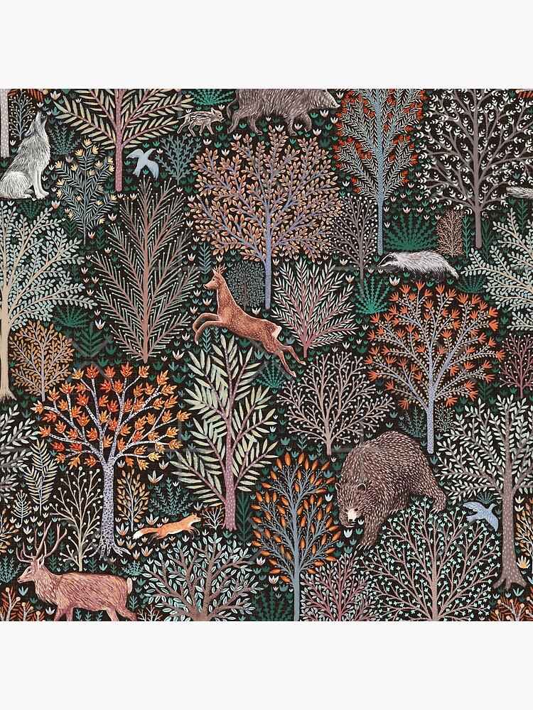 Forest animals - les animaux de la fôret von Nozzas