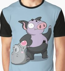 Bouncy Pigs! Graphic T-Shirt