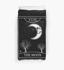 The Moon Tarot Duvet Cover