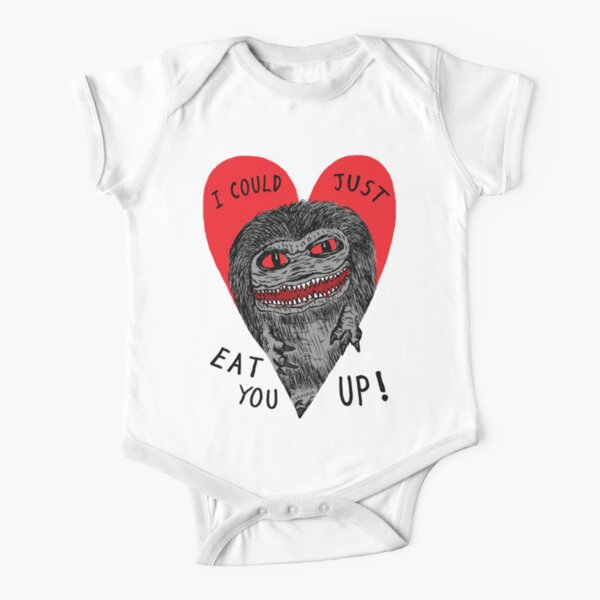 Eat You Up Short Sleeve Baby One-Piece