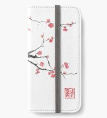 New hope sumi-e painting iPhone Wallet/Case/Skin