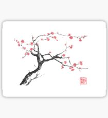 New hope sumi-e painting Sticker