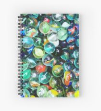 Marble Mania Spiral Notebook