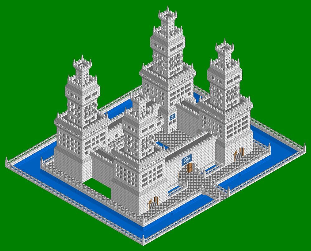 Castle by Flimshaw