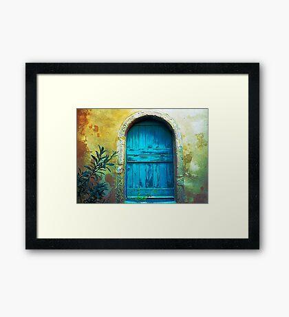 Secret Door Framed Print