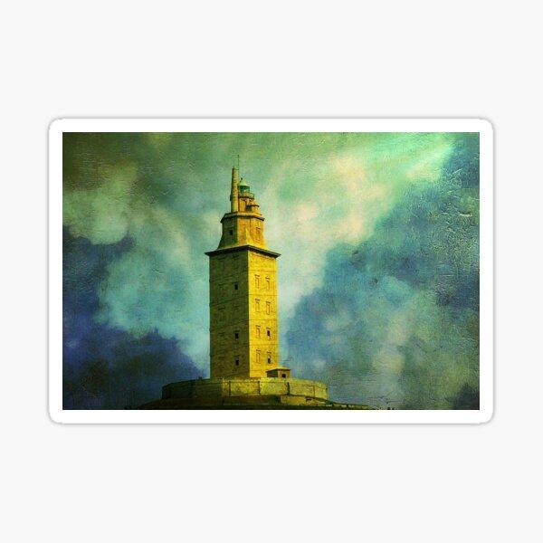 Tower of Hercules Sticker