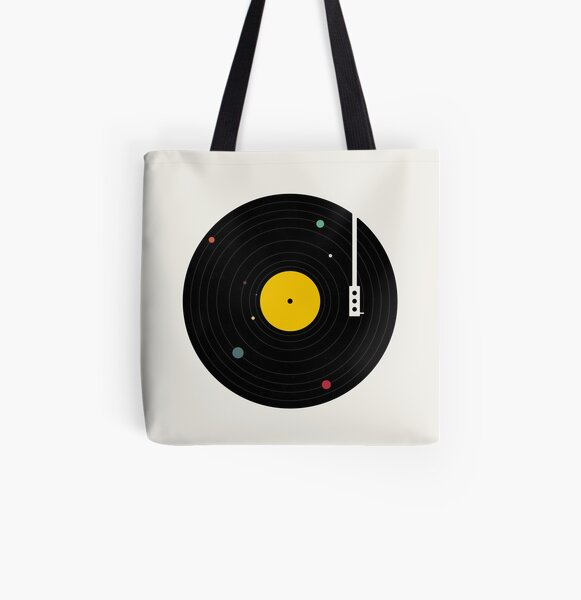 Music Everywhere All Over Print Tote Bag
