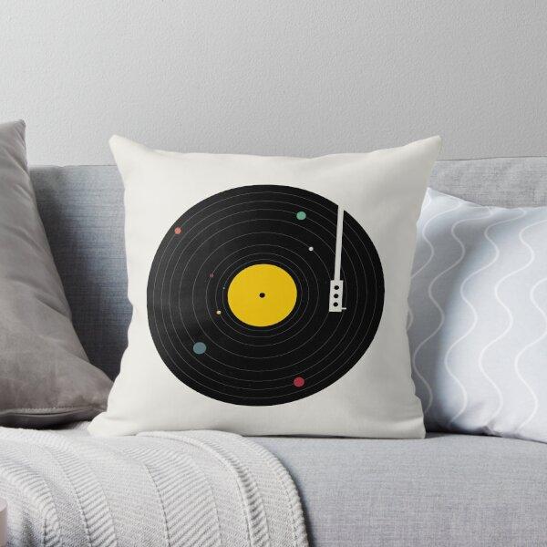 Music Everywhere Throw Pillow