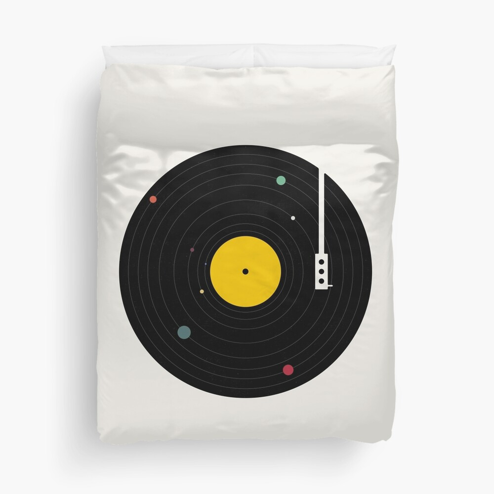 Music Everywhere Duvet Cover