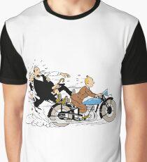 Tintin + Moto Dupond/Dupont Graphic T-Shirt