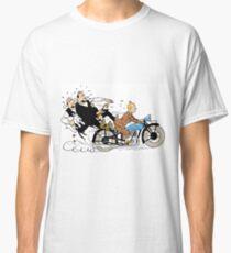 Tintin + Moto Dupond/Dupont Classic T-Shirt