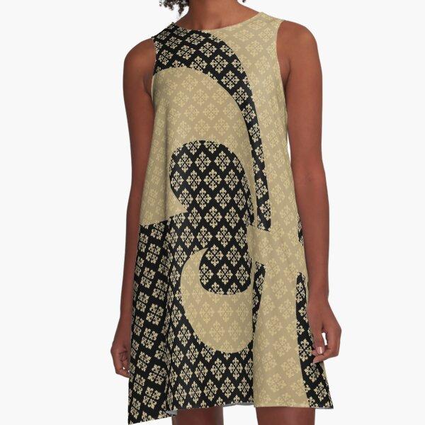 Fleur de Lis A-Line Dress