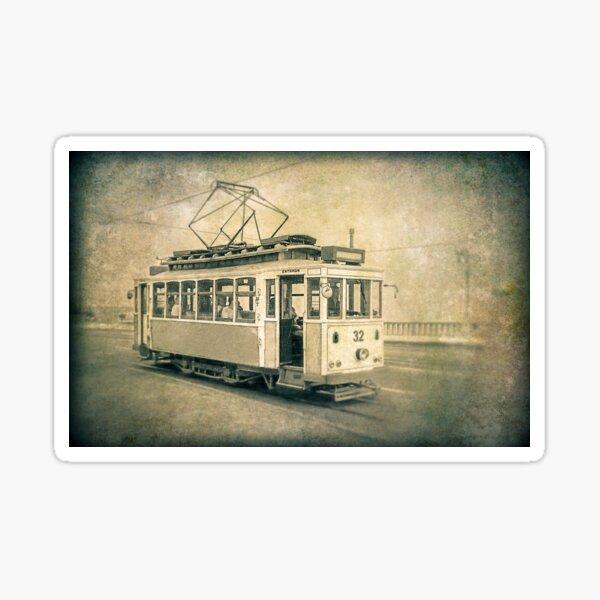 The Last Tram Sticker