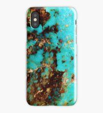 Turquoise I iPhone Case/Skin