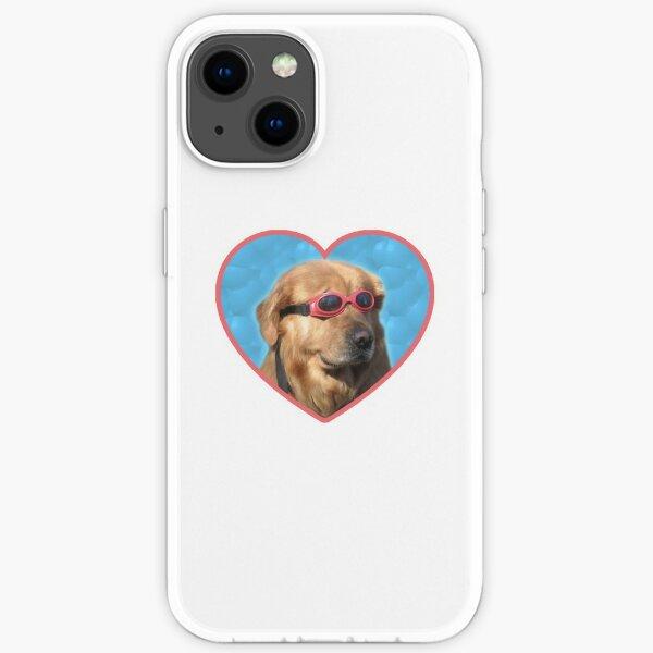 Doggo Stickers: Swimmer Dog iPhone Soft Case