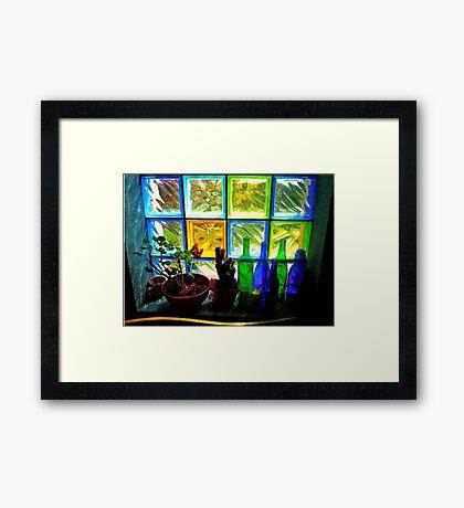 Colourful Light Framed Print