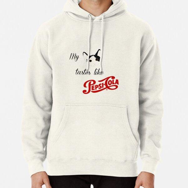 Cat-Cola Pullover Hoodie