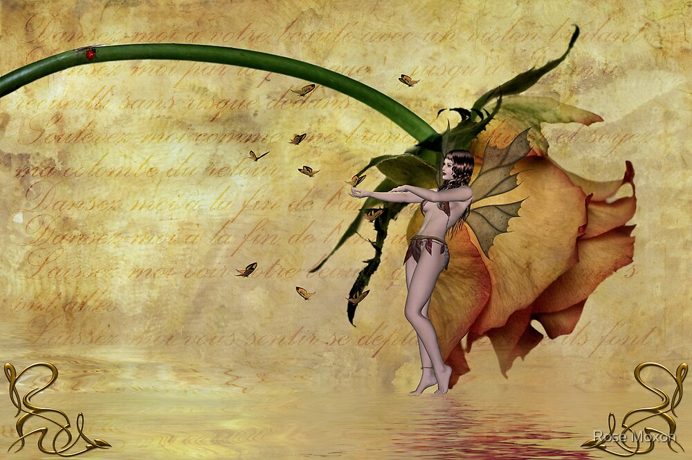 Butterfly Sprite - John Edwards & Rose by Rose Moxon