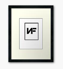 NF American Rapper Logo Framed Print