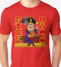 TV Game Show - TPIR (The Price Is...)Pirate Theme Pick Me T-Shirt