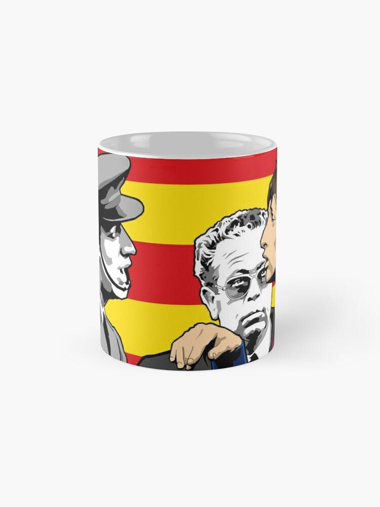 Alternate view of Cruyff - Catalonia Pride Standard Mug