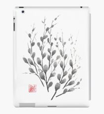 Gentle promise sumi-e painting iPad Case/Skin