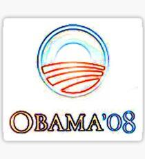 Obama 08 Sticker