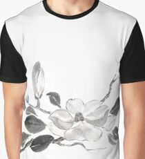 White queen sumi-e painting Graphic T-Shirt