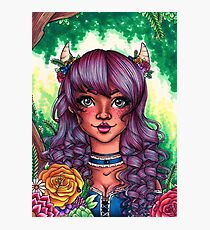 Forest Goddess Photographic Print