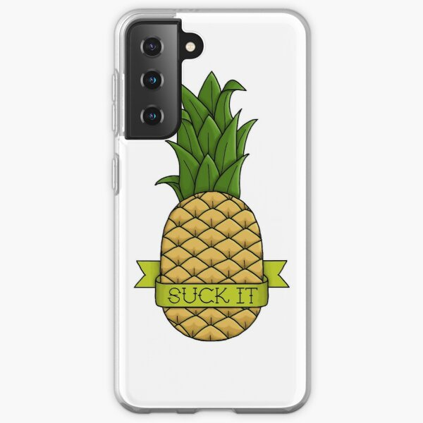 Suck It Pineapple Samsung Galaxy Soft Case