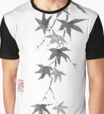 Star rain sumi-e painting Graphic T-Shirt