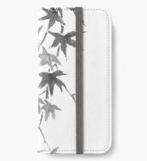 Star rain sumi-e painting iPhone Wallet/Case/Skin