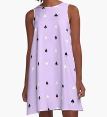 Cool Spades Pattern A-Line Dress