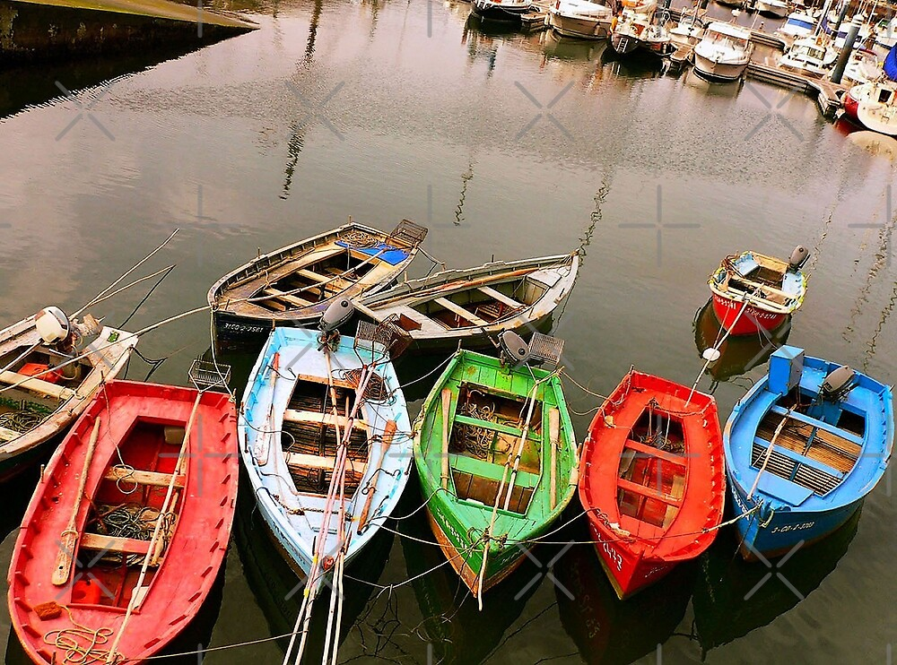 Colours in the Harbour by EvaMarIza