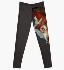 Wolf with chains Leggings